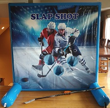 inflatable hockey game